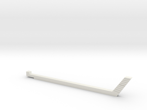 NTrak-Gap-Jig-Slim in White Natural Versatile Plastic