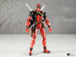 1:12 Katana for Marvel Legends Deadpool V2 (pair) in Polished Metallic Plastic