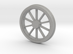 McKeen Driver Wheel In O Scale in Aluminum