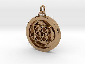 23S – II TAKE CHARGE AND FIND CORRECT PATH in Polished Brass