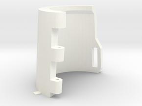 Gauntlet-Body-Part-2-of-4-STL-File in White Processed Versatile Plastic