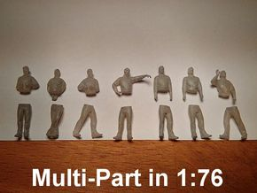 [1:76] Male set (multi-part) in Frosted Ultra Detail