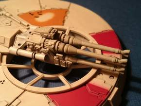 YT1300 DEAGO LASER CANNON  in Frosted Ultra Detail