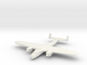 1/200 Dornier Do 17E Flying Pencil in White Natural Versatile Plastic