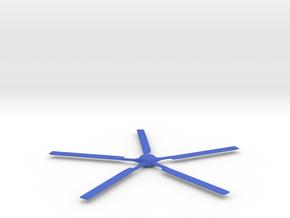 Dinky Sea King Main Rotor  in Blue Processed Versatile Plastic