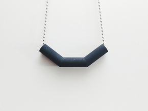 Pipe Pendant N°3 in Black Strong & Flexible