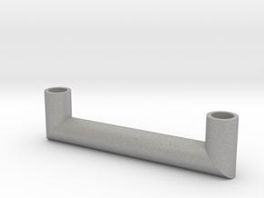 Pipe Pendant N°4 in Aluminum
