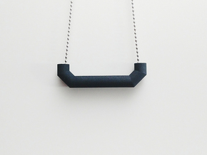 Pipe Pendant N°5 in Black Strong & Flexible