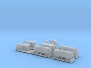 FEA-B Rail Head Treatment Train v1.0 in Smooth Fine Detail Plastic