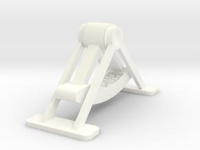 Swinging Boat in White Processed Versatile Plastic