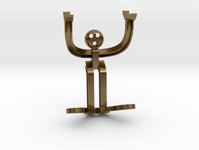 H-beam Man in Natural Bronze