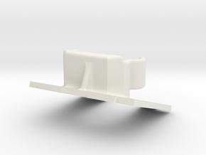 600 Tvl Mount 20° V2 in White Natural Versatile Plastic