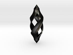 Twisted in Matte Black Steel