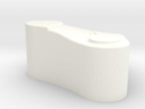 120  Delta Standoff DS R4 in White Processed Versatile Plastic