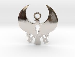 Heru Pendant: 3 Keys of Life in Platinum