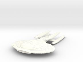 Wildwind Class VII B  BatteCruiser 4eng in White Processed Versatile Plastic