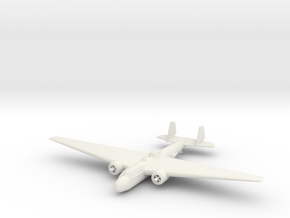 1/200 Mitsubishi G3M 'Nell' in White Strong & Flexible