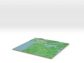 Terrafab generated model Tue Feb 23 2016 13:55:26  in Full Color Sandstone