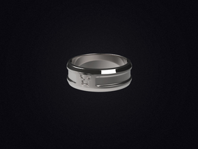 Creeper Band (Size 7 1/2 | 17.7 mm) in Polished Silver