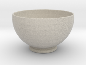 Soup Bowl in Natural Sandstone