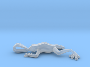 Poison Arrow Frog Pendant in Smooth Fine Detail Plastic
