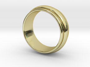 Ø 19.62 Mm Classic Beauty Ring Ø 0.772 Inch in 18k Gold