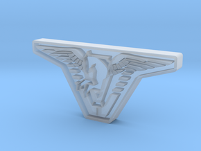 Atlantis Badge in Smooth Fine Detail Plastic