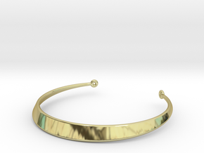Ø35 mm Necklace Ø1.377 inch in 18k Gold Plated