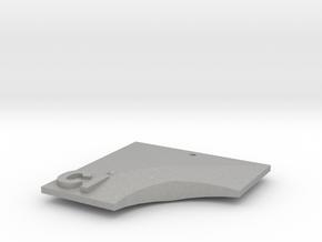 Ci Pendant in Aluminum