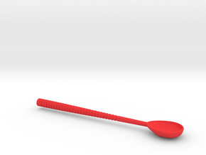 Byte Glossectomy Spoon (Deep Head) in Red Processed Versatile Plastic