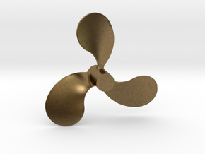 "Propeller, 2.5"" RH, for 1:8 scale Monterey Clipper in Natural Bronze"