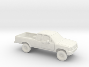 1/87 1988-97 Toyota Hilux in White Natural Versatile Plastic