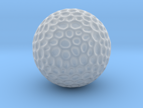 DRAW geo - sphere alien egg golf ball in Smooth Fine Detail Plastic: Small