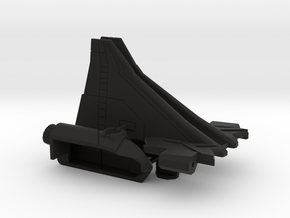 Combat Orbiter Wings and OMS Pods in Black Strong & Flexible