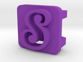 BandBit S1 for Fitbit Flex in Purple Processed Versatile Plastic