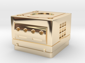 Cherry MX - Keycap - Gamecube in 14k Gold Plated Brass