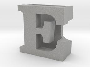 BandBit E for Fitbit Flex in Aluminum