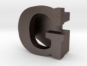 BandBit G for Fitbit Flex in Polished Bronzed Silver Steel