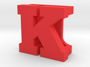 BandBit K for Fitbit Flex in Red Processed Versatile Plastic