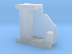 BandBit L2, Fitbit Flex (Fits parallel to strap.) in Smooth Fine Detail Plastic