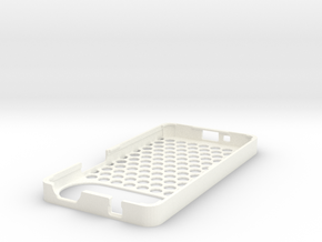 Case for alcatel one touch in White Processed Versatile Plastic