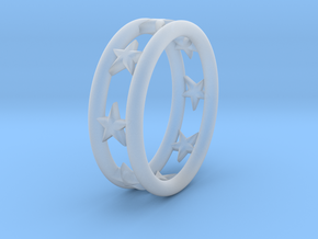 Ring Of Linestars 14.1mm Size 3 in Smooth Fine Detail Plastic