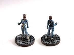 Alexandra Pryce (28mm/Heroic scale) in Smooth Fine Detail Plastic