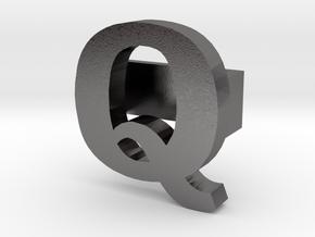 BandBit Q for Fitbit Flex in Polished Nickel Steel