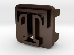 BandBit T1 for Fitbit Flex in Polished Bronze Steel