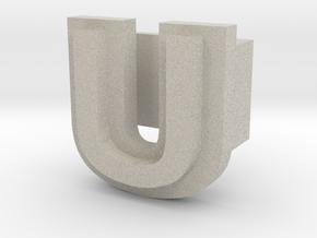 BandBit U1 for Fitbit Flex in Natural Sandstone