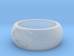 SuperRing in Smooth Fine Detail Plastic