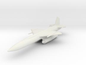 Boeing CIM-10 (IM-99) Bomarc 1/144 in White Natural Versatile Plastic