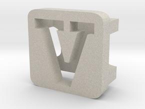 BandBit V2 for Fitbit Flex in Natural Sandstone