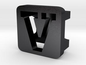 BandBit V2 for Fitbit Flex in Polished and Bronzed Black Steel